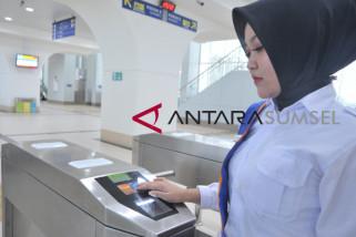 PT KAI sosialisasikan kartu tiket LRT Palembang
