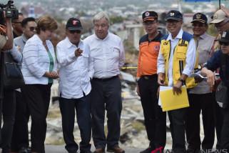 Wapres kunjungi Palu, pimpin rakor rekonstruksi