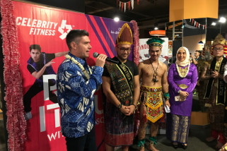 Celebrity Fitness rayakan HUT ke-4 di Palembang Icon