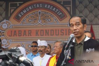 Presiden saksikan deklarasi Jawa Barat Kondusif