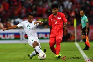 Indonesia takluk 0-1 dari Singapura di Piala AFF
