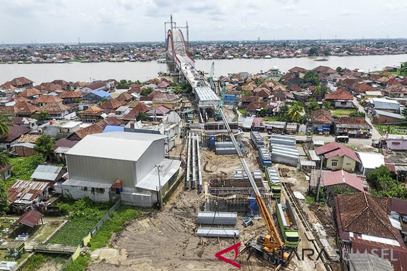 Jembatan Musi VI Terkendala Pembebasan Lahan