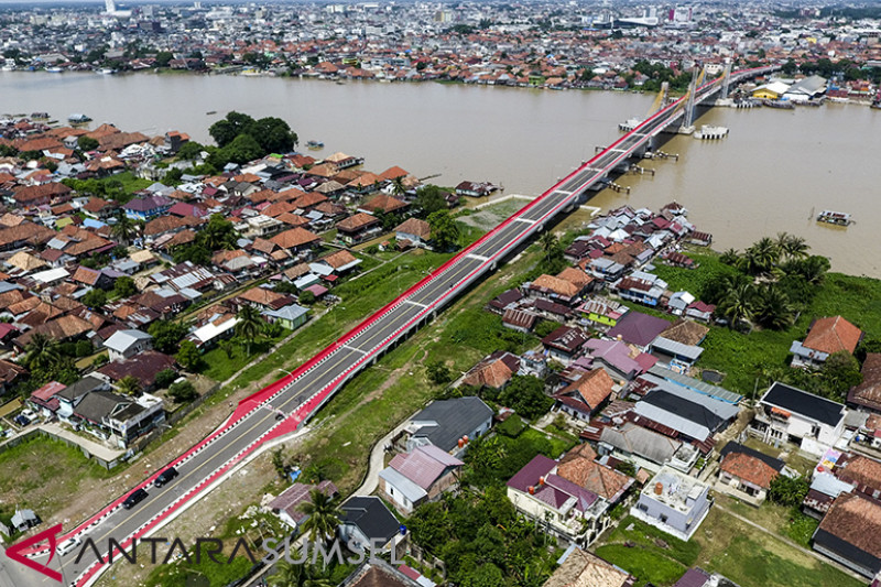 Pembangunan Jembatan Musi IV Rampung