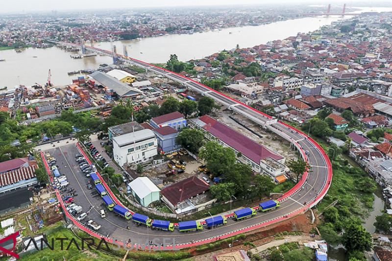 Uji Beban Jembatan Musi IV
